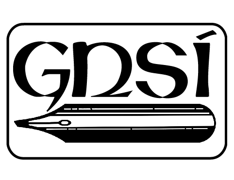 First GNSI logo (1972-1988), designed by George Venable