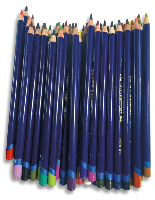Inktense Pencils Fig. 2