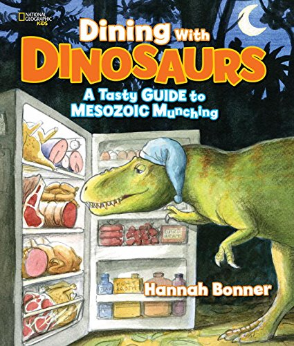 Dining With Dinosaurs book cover