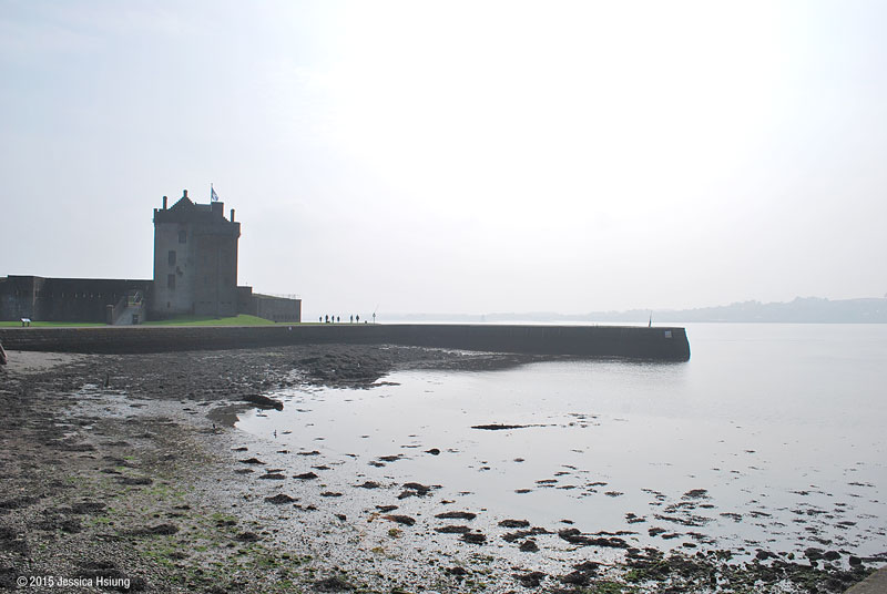 Broughty Castle on the banks of the river Tay, Broughty Ferry, Dundee, © 2015 Jessica Hsiung
