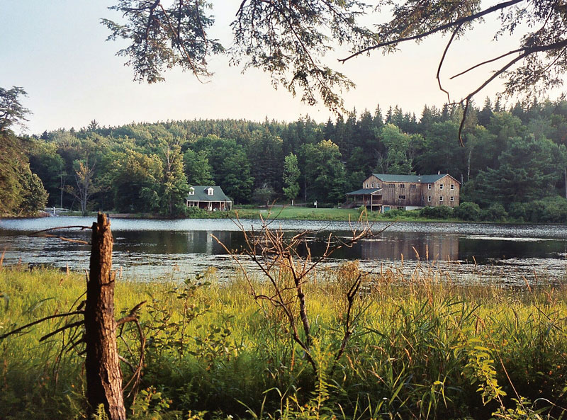 Huyck preserve