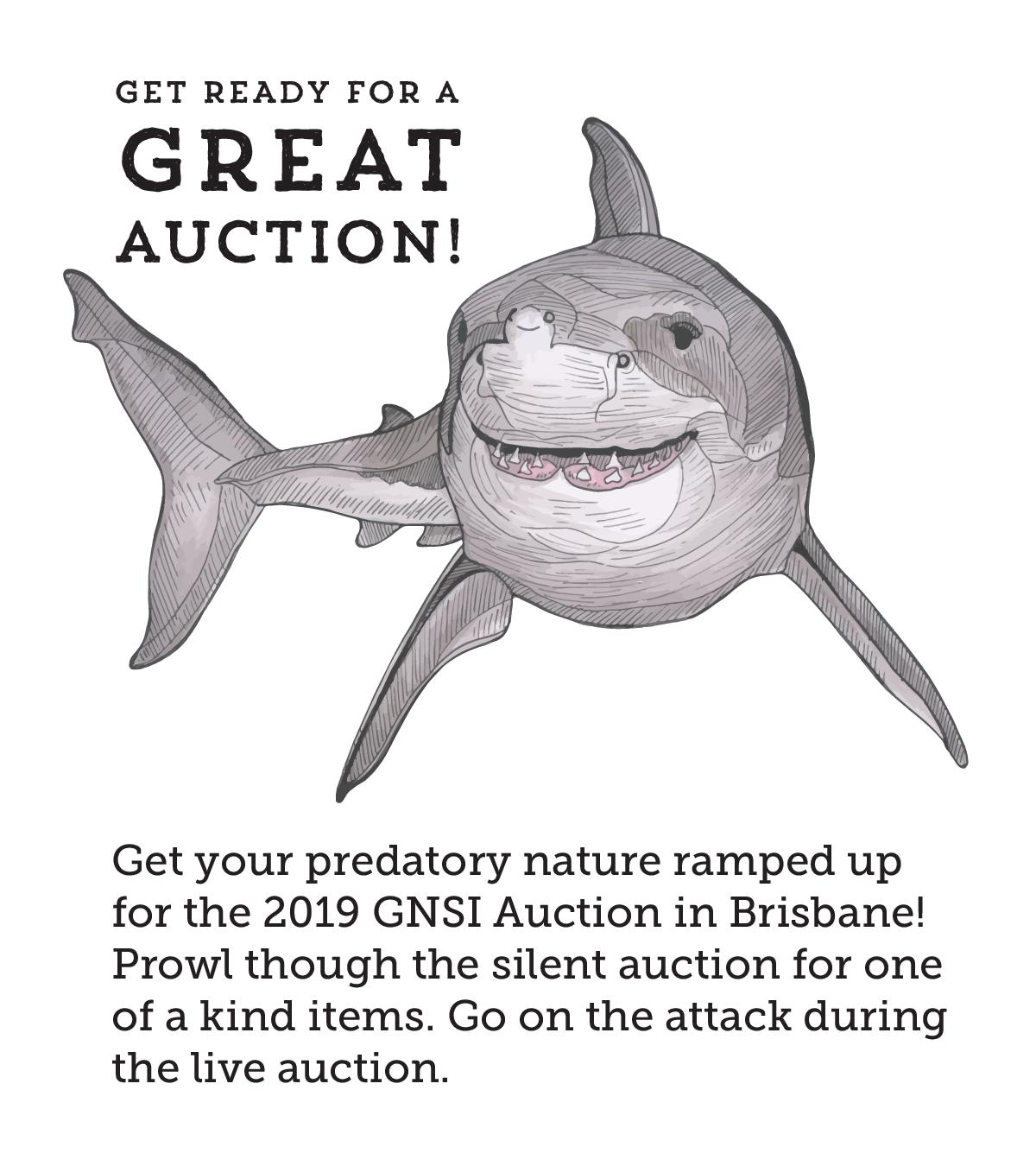Great Auction _ White Shark