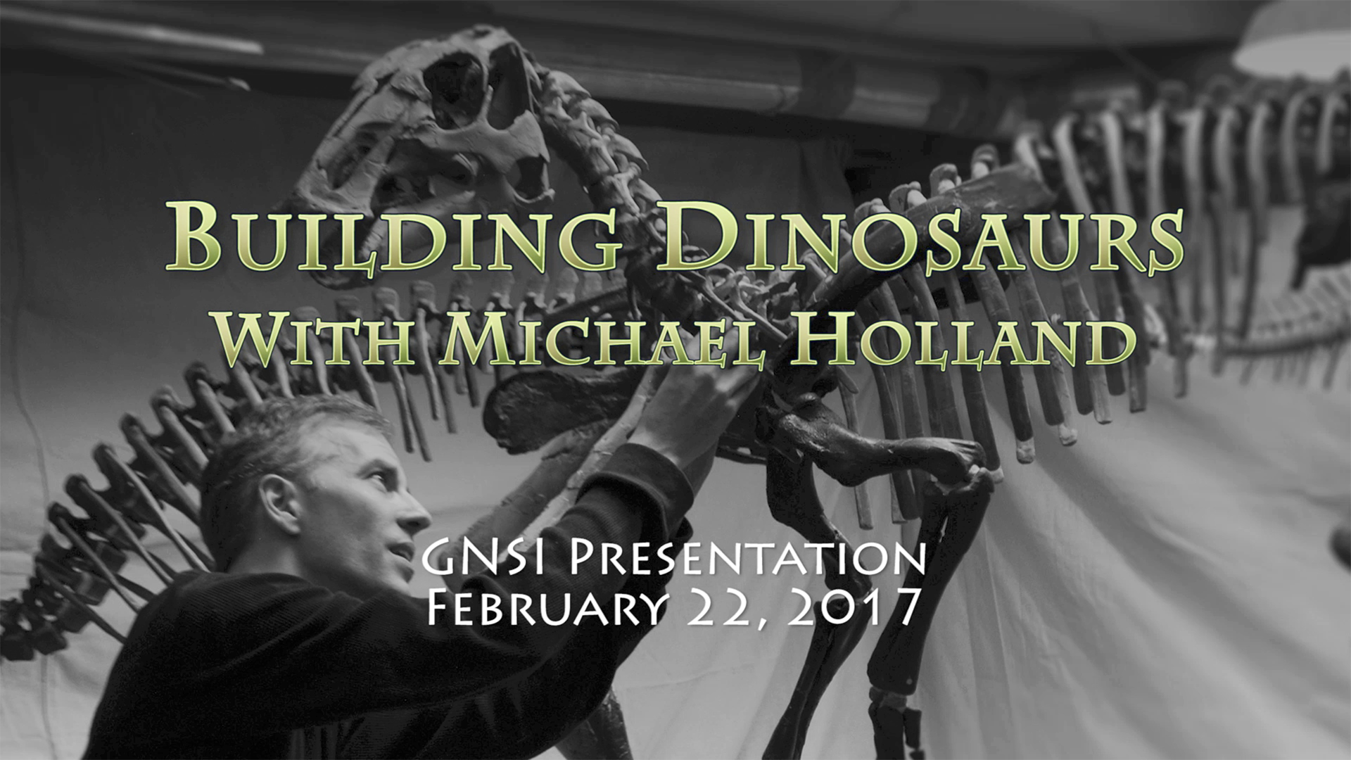 Michael Holland_ Building Dinosaurs