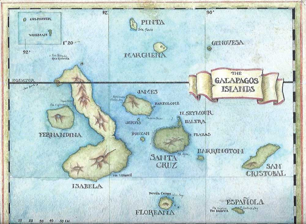Memb Spotlight ME Taylor_Galapagos Map