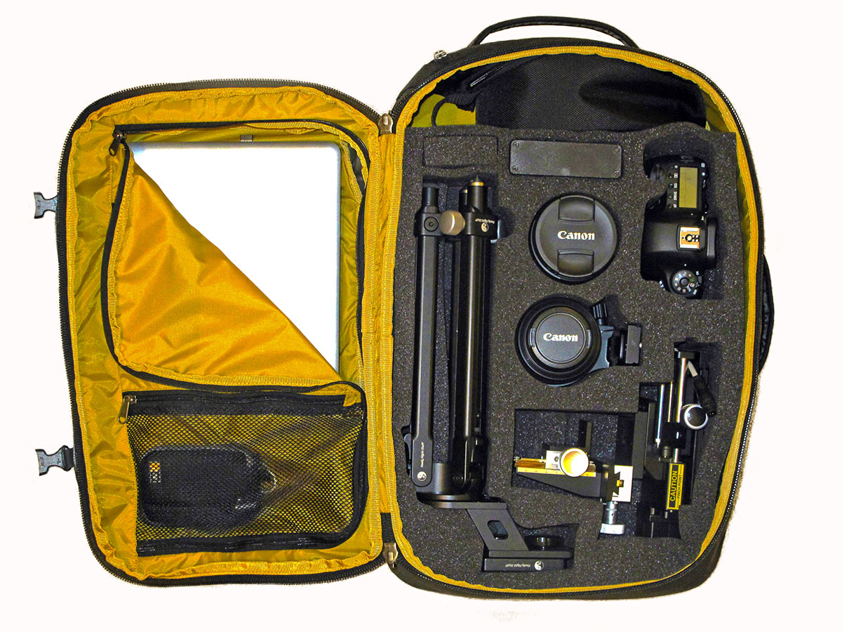 Macropod portable system for high resolution photography